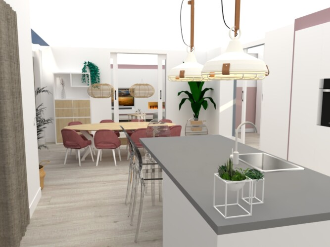 3D visualisatie keuken